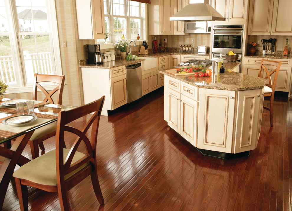 Oil Rubbed Bronze Cabinet Hardware Kitchen Traditional with Flooring Hardwood Kitchen