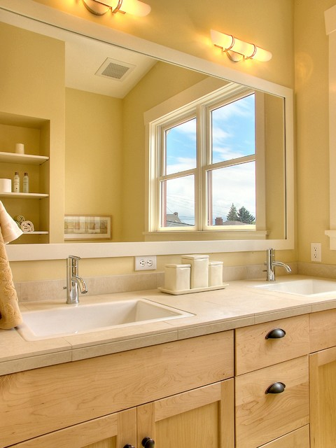 Oil Rubbed Bronze Faucet Bathroom Traditional with Butter Canister Set Containers Double Sink Double Vanity Hand