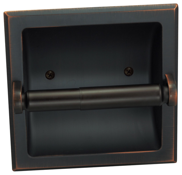 oil rubbed bronze toilet paper holder with bronze nickel recessed toilet paper holder toilet tissue holder