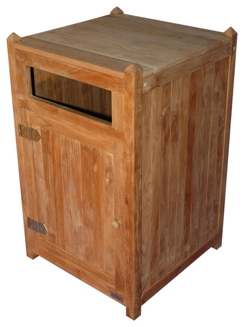 Outdoor Garbage Canswith 4