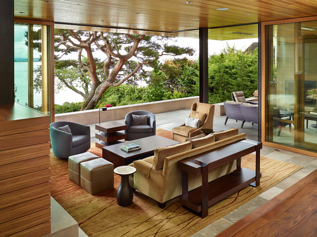 Outdoor Glider Chair Porch Contemporary with Blue Barrel Back Chairs Contemporary Living Room Fireplaces Glass