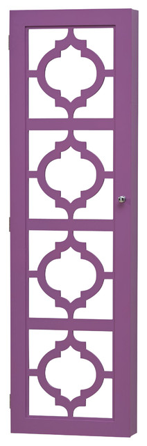 Over the Door Jewelry Armoire with Box Boxes Door Hook Jewelry Mirrored Organizer Safe Slot1