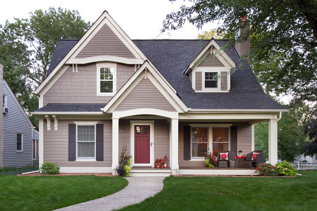 owens corning roof shingles Exterior Traditional with beige exterior beige molding beige shingle exterior beige shingle