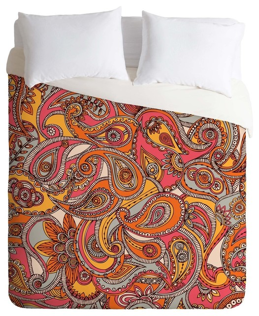 Paisley Duvet Coverwith 6