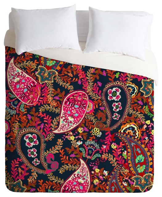 Paisley Duvet Coverwith 7