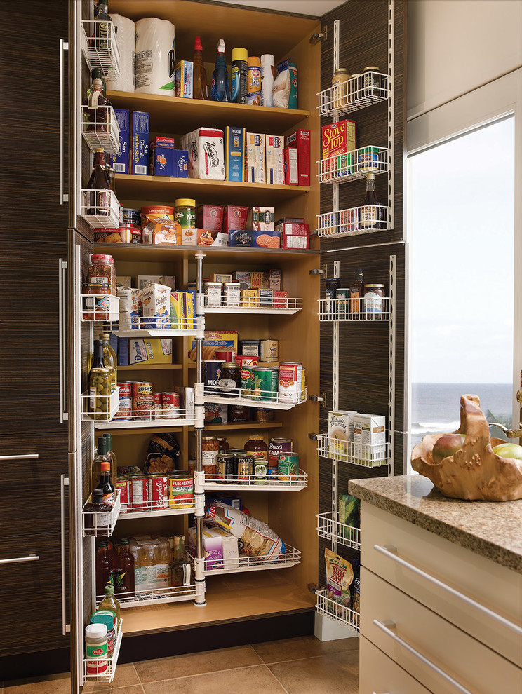Pantry Shelving Systems Kitchen Contemporary with Chefs Pantry Emergency Preparedness Food Storage Kitchen