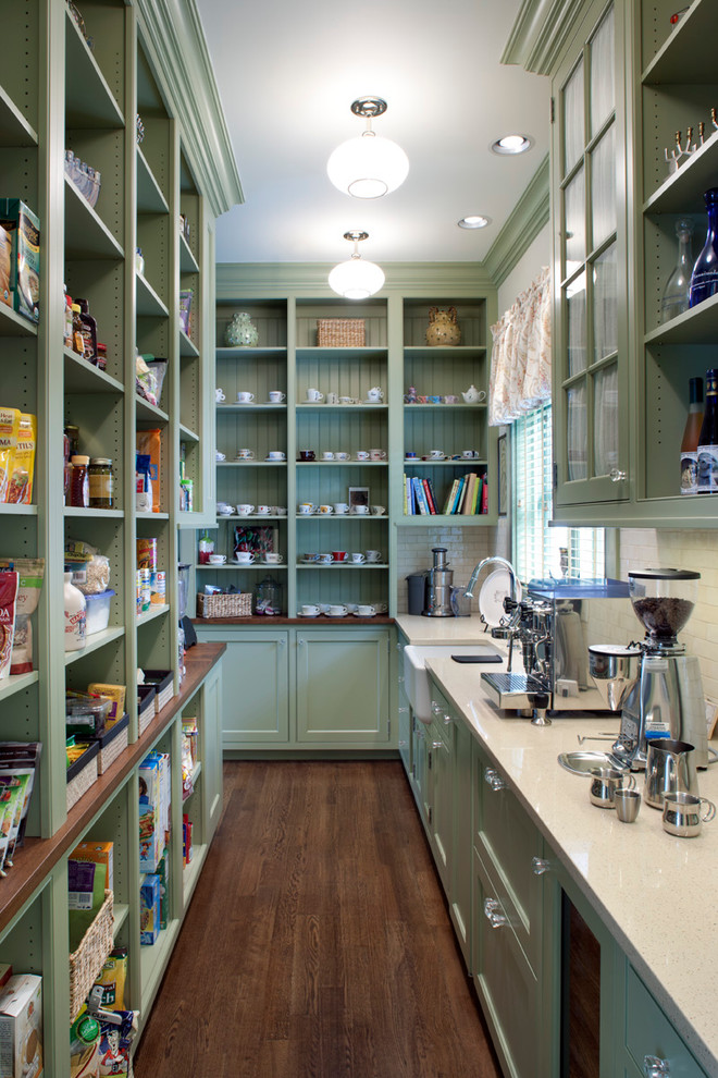 Pantry Shelving Systems Kitchen Traditional with Adjustable Shelves Butlers Pantry Dark Stained Wood