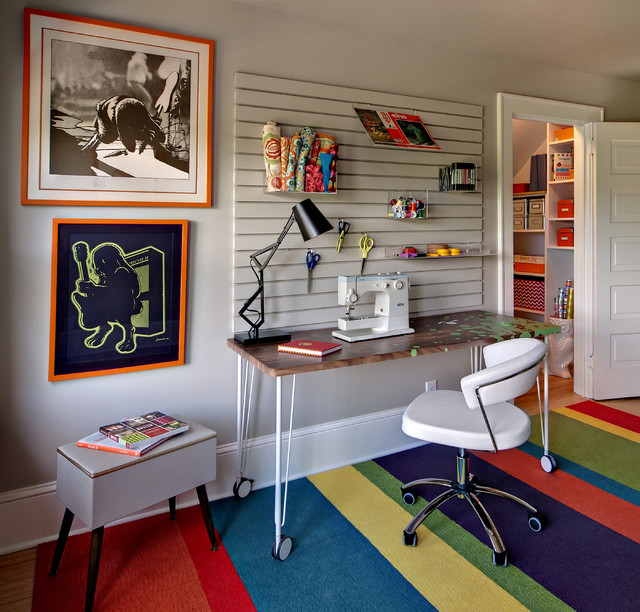Pegboard Baskets Home Office Eclectic with Art Arts and Crafts Asid Basket Storage Baskets Bright