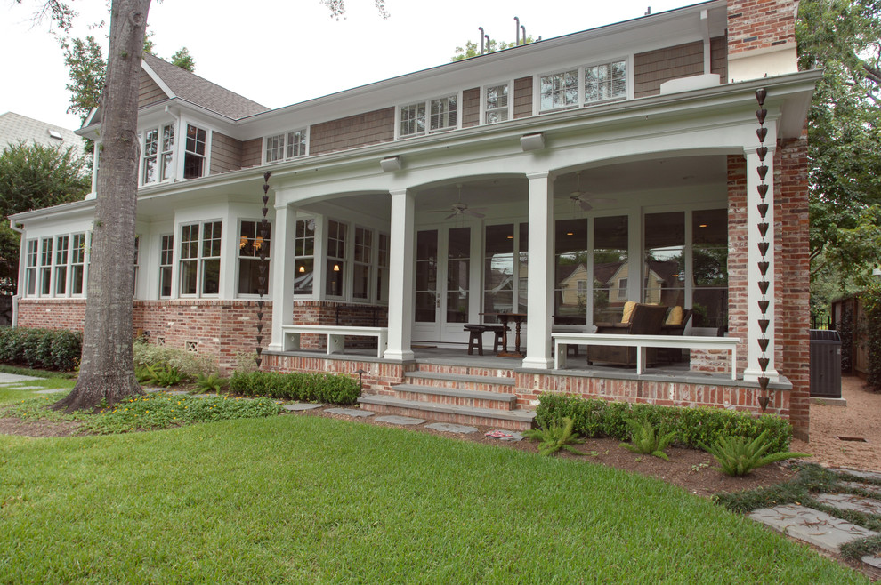 Permacast columns porch traditional with cape cod for Permacast columns