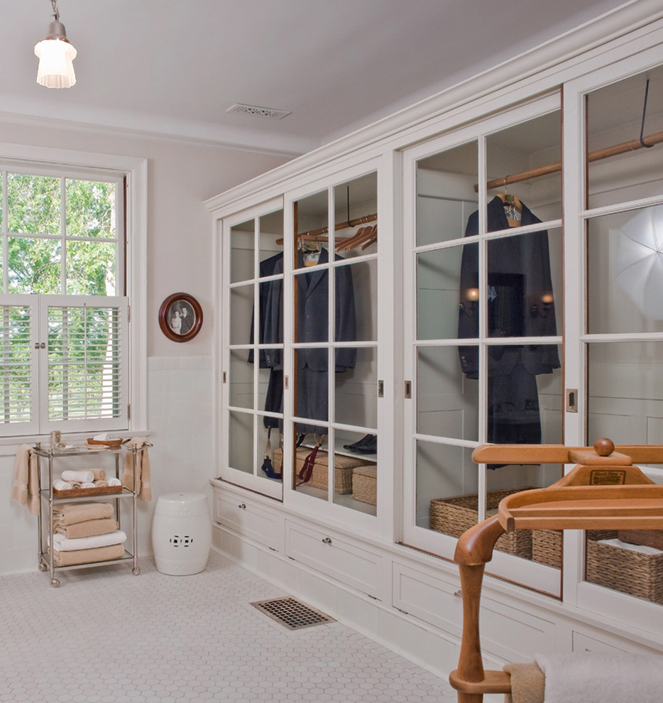 Plantation Shutters for Sliding Glass Doors Bathroom Traditional with Arm Chair Artwork Brass Brick Carved Wood