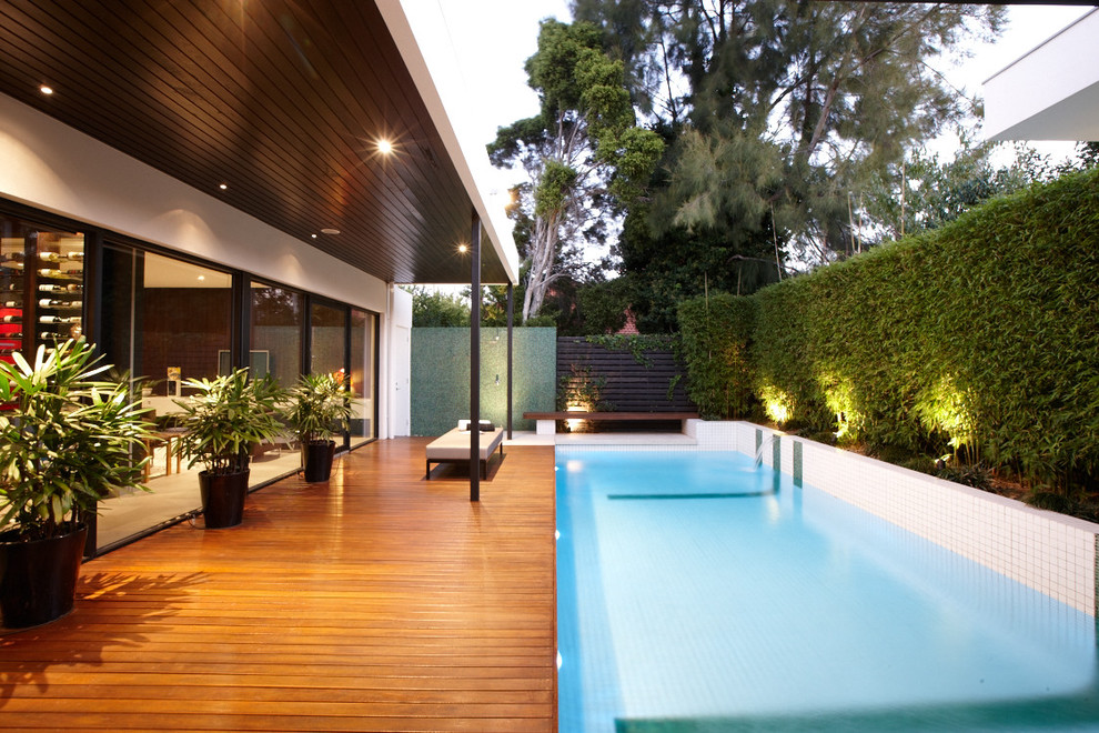 Pool Deck Resurfacing Pool Contemporary with 2 X 2 Tiles Bench Seat Covered