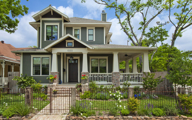 Porch Railing Exterior Craftsman With 2 Story Arts And