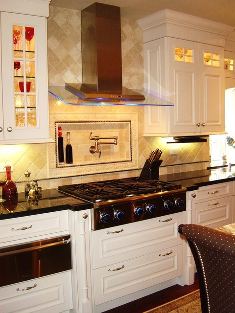Pot Filler Faucet Kitchen Contemporary with Best by Broan Cooper Pacific Kitchens Kitchen Nkba Member