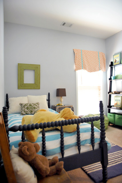 Pottery Barn Duvet Kids Eclectic with Bed Pillows Bedroom Bedside Table Decorative Pillows Leaning Bookcase