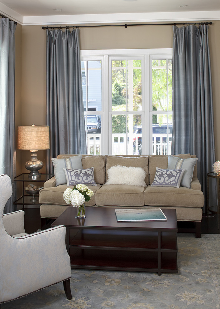 Pottery Barn Shower Curtains Living Room Traditional With Area Rug Decorative Pillows Drapes End