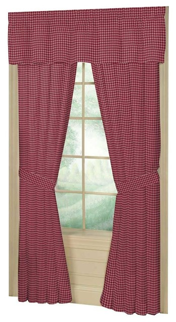Primitive Curtains with Patch Magiccww186awindow Treatment Curtains