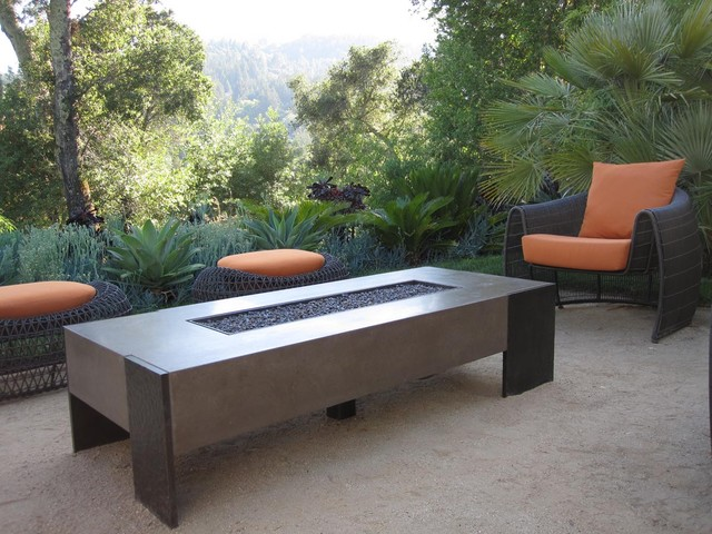 Propane Fire Pit Table Patio Contemporary with Agave Coffee Table Exterior Fireplace Exterior Seating Fire Pit