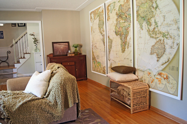 Push Pin Travel Map Living Room Transitional with Categoryliving Roomstyletransitionallocationminneapolis 1