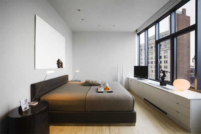 Radiator Covers Nyc Bedroom Contemporary with Bedside Table Ceiling Lighting Chest of Drawers Dresser Minimal