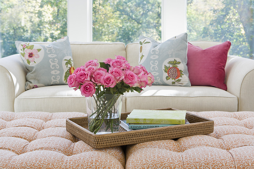 raoul textiles Porch Traditional with accessories bright calming clean comfortable feminine fresh