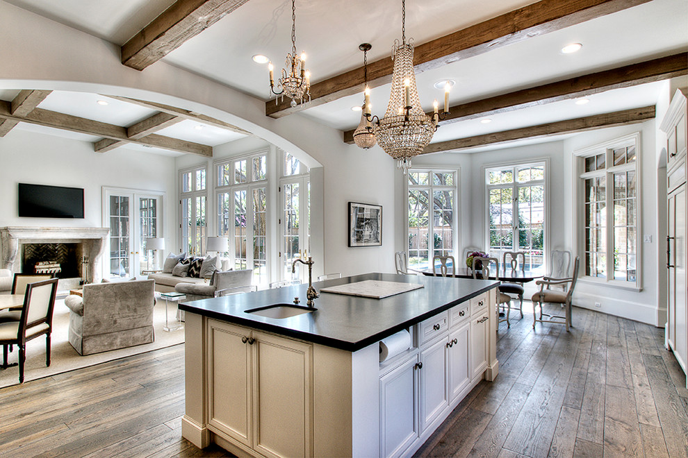 Recessed Toilet Paper Holder Kitchen Traditional with Archway Bay Window Casement Windows Ceiling Lighting