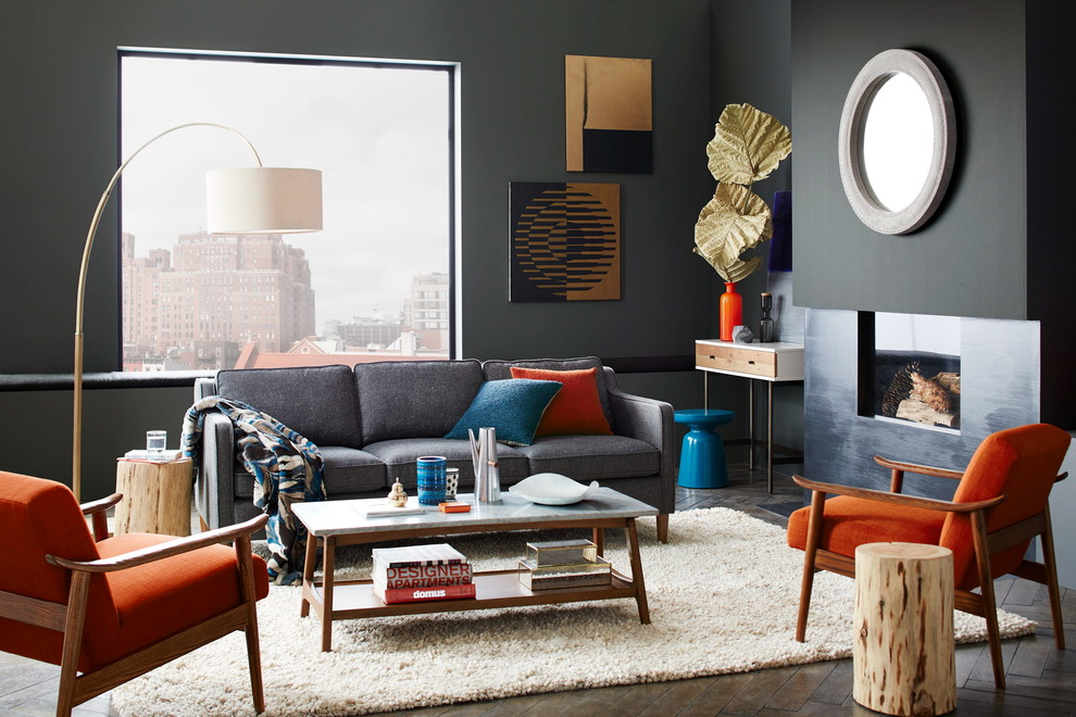Reclining Chaise Living Room Contemporary with Categoryliving Roomstylecontemporarylocationnew York