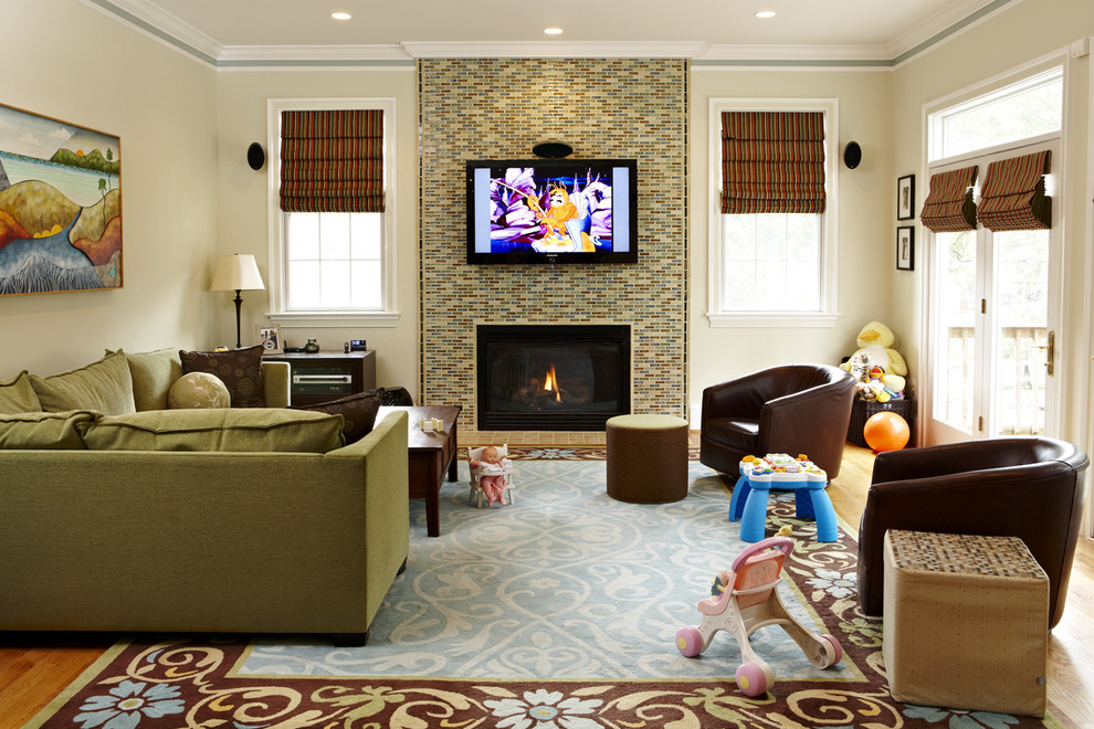 Reface Fireplace Living Room Eclectic with Area Rug Ceiling Lighting Corner Sofa Crown