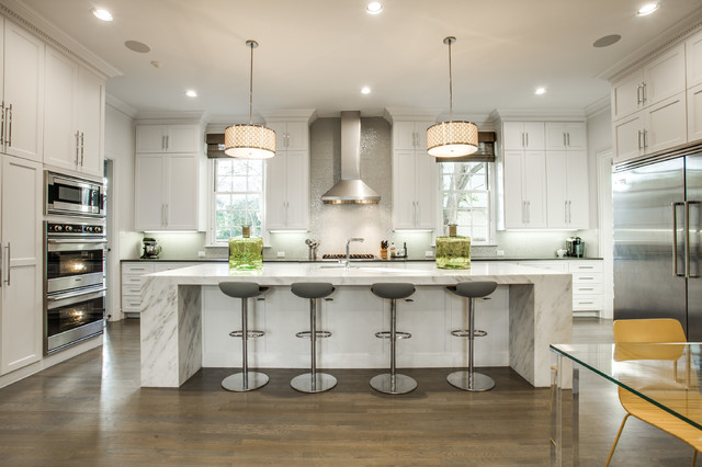 resurface cabinets Kitchen Transitional with counter stools large kitchen island pendant lights under cabinet