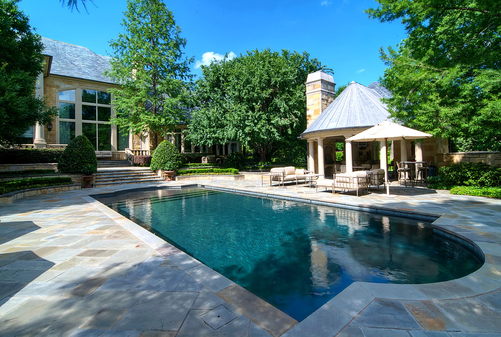 Retractable Pool Cover Pool Traditional with Aquatic Backyard Chimney Covered Patio Fence Hardscape