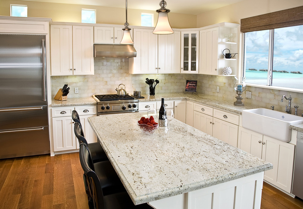Rohl Sinks Kitchen Traditional with Apron Front Sink Breakfast Bar Colonial Cream