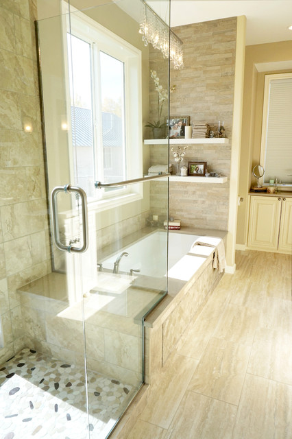 building a roman tub. Roman Tub Faucet Bathroom Transitional with Bathtub Surround Beige Clear  Flass Glass Shower Door roman tub faucet Traditional accent tile angled bath