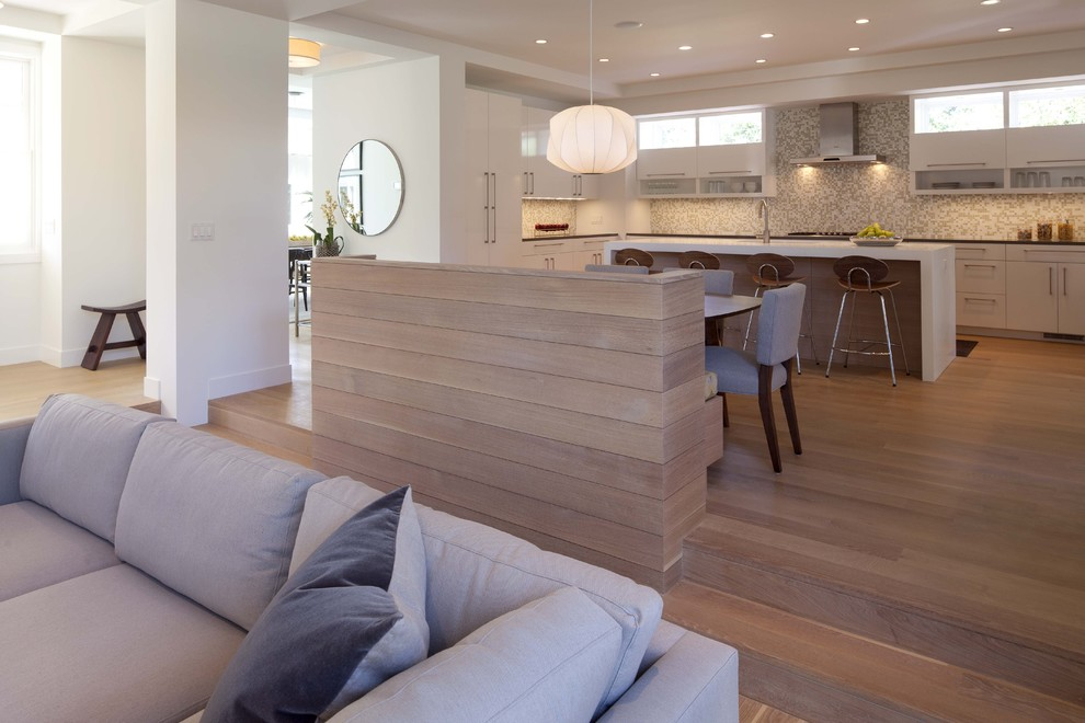 Room Separators Kitchen Contemporary with Banquette Breakfast Bar Ceiling Lighting Clerestory Contemporary