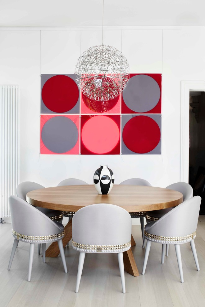 Round Extendable Dining Table Dining Room Contemporary with Formal Dining Formal Dining Room Globe Pendant