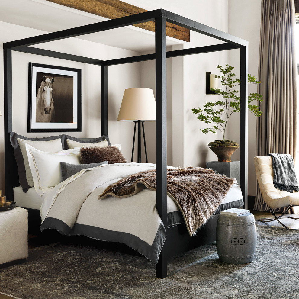Rustic Platform Bed Bedroom with Categorybedroomlocationsan Francisco