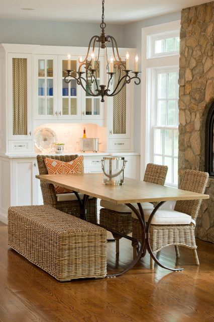 Sarasota Furniture Stores Dining Room Eclectic with Chandelier China Cabinets Dining Bench Dining Hutch Divided Lights
