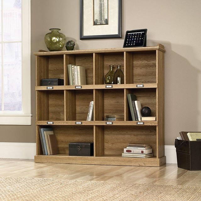 Sauder Bookcasesold Byhayneedle Bookcases Contemporarywith Sold Byhayneedlecategorybookcasesstylecontemporary Barrister Lane Bookcase Scribed Oak 414724 Contemporary Bookcases