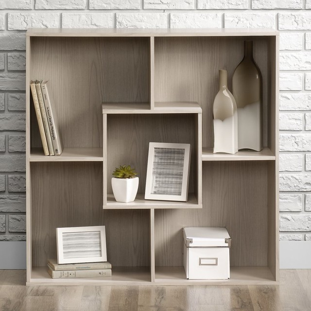 Sauder Bookcasesold Byhayneedle Bookcases Contemporarywith Sold Byhayneedlecategorybookcasesstylecontemporary Square 1 Organizer 5 Shelves 417117 Contemporary Bookcases