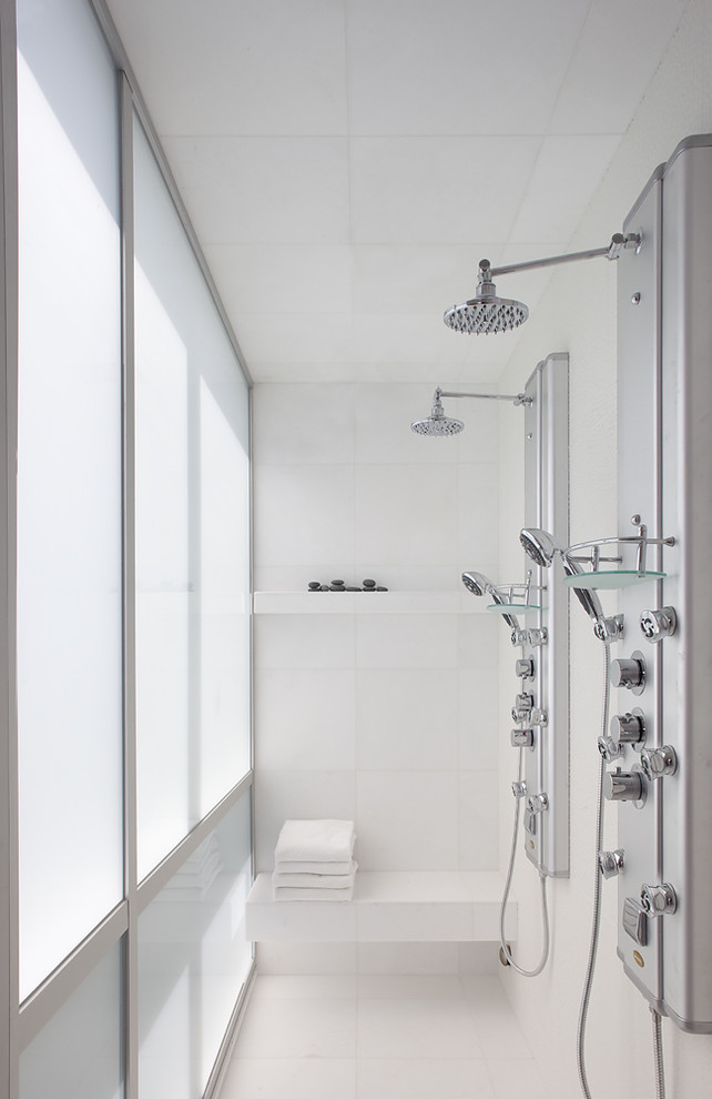 Schluter Shower System Bathroom Modern with Double Shower Dual Shower Eco Friendly Flooring Floating