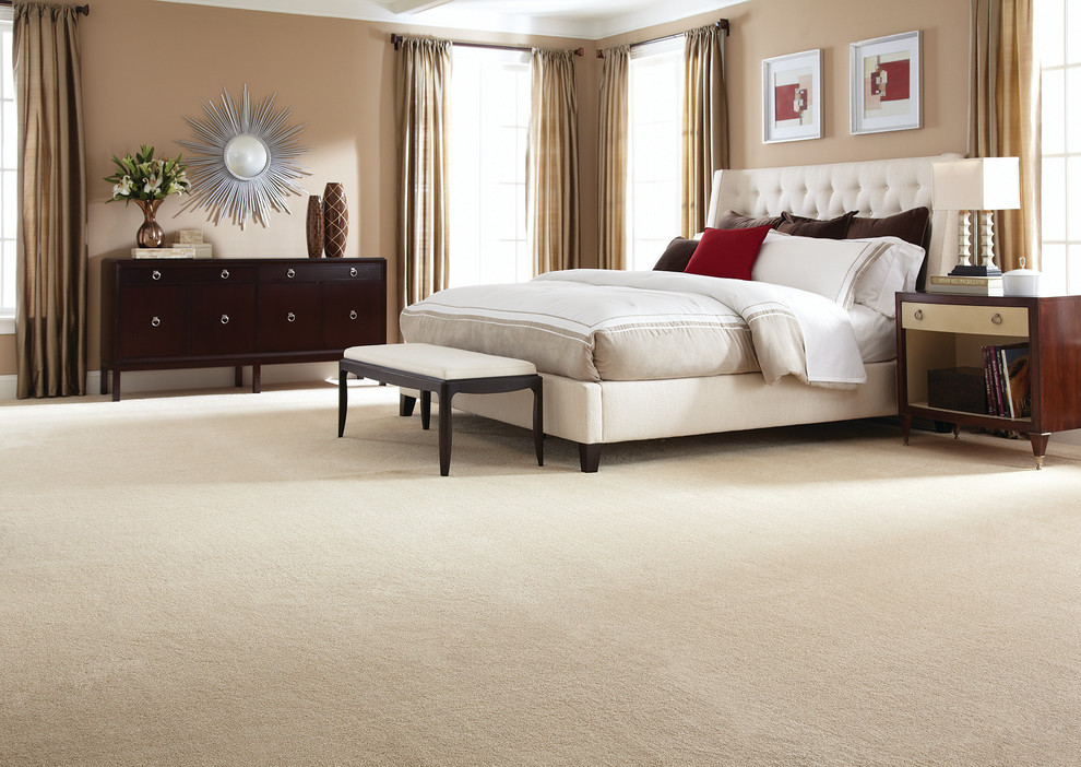 Seagrass Carpet Bedroom Transitional with Categorybedroomstyletransitionallocationnew York