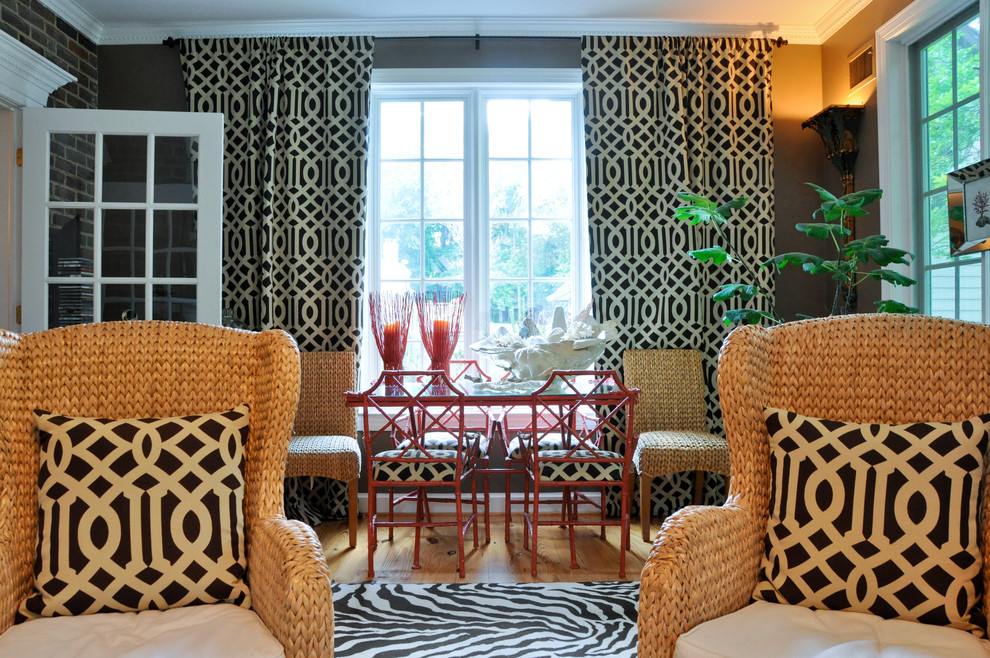 Seagrass Chairs Living Room Eclectic with Armchairs Crown Molding Exterior Wall Rattan Chair