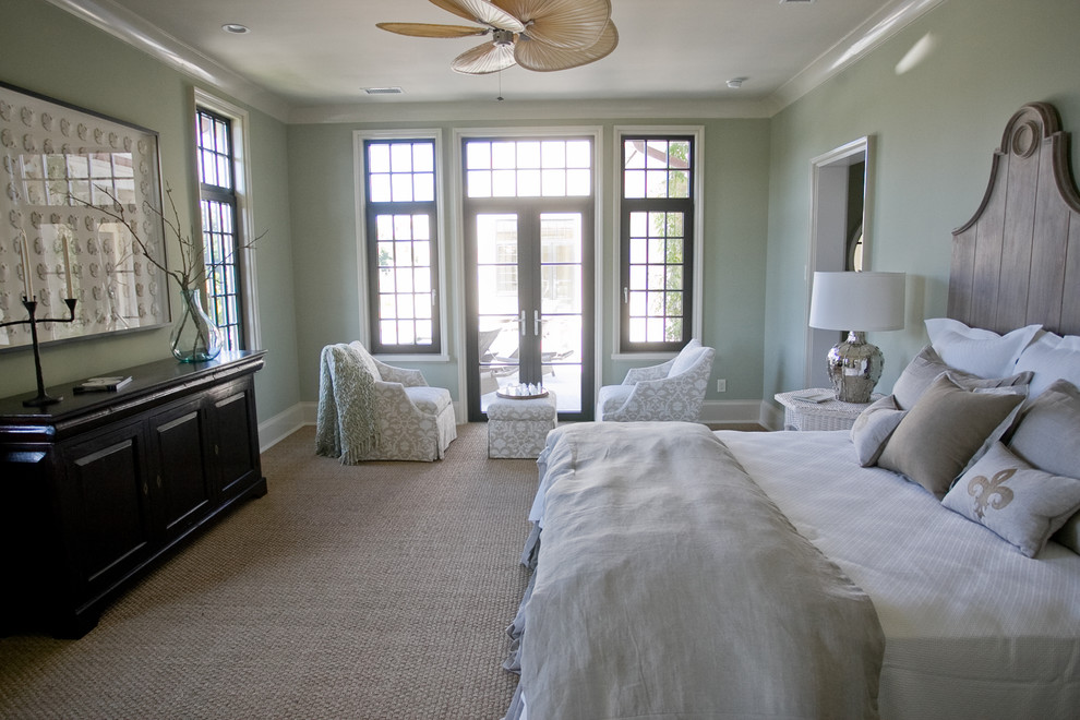 Seagrass Furniture Bedroom Beach with Black Windows Chairs and Matching Ottoman Chairs