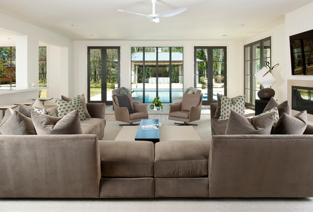 Sectional Couches Cheap Family Room Contemporary with Brown Couch Ceiling Fan Ceiling Lighting Family Room Flatscreen