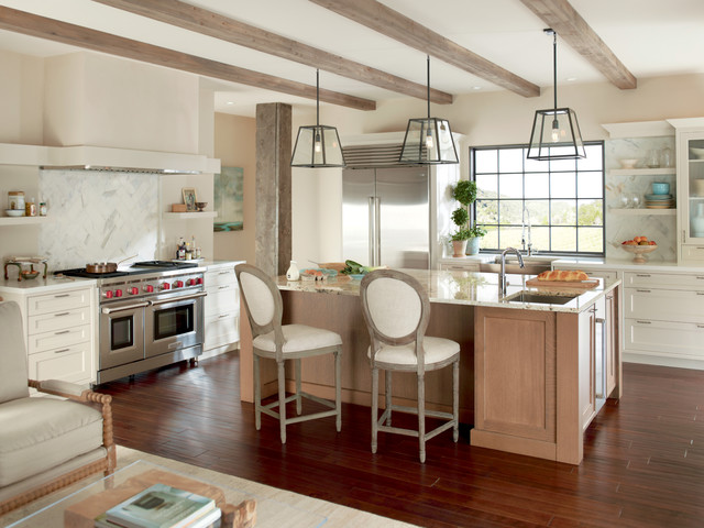 Skylight Shades Kitchen Transitional with Categorykitchenstyletransitionallocationunited States