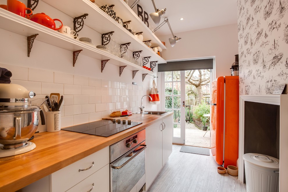 Smeg Refrigerator Kitchen Eclectic with Bathroom Chandelier Creative Design Dog Bed Eclectic