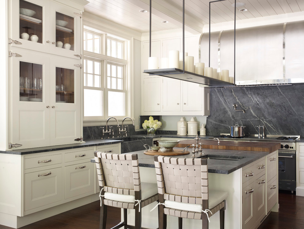 Soapstone Countertops Cost Kitchen Transitional with Candles Double Hung Windows Pot Filler Soapstone1