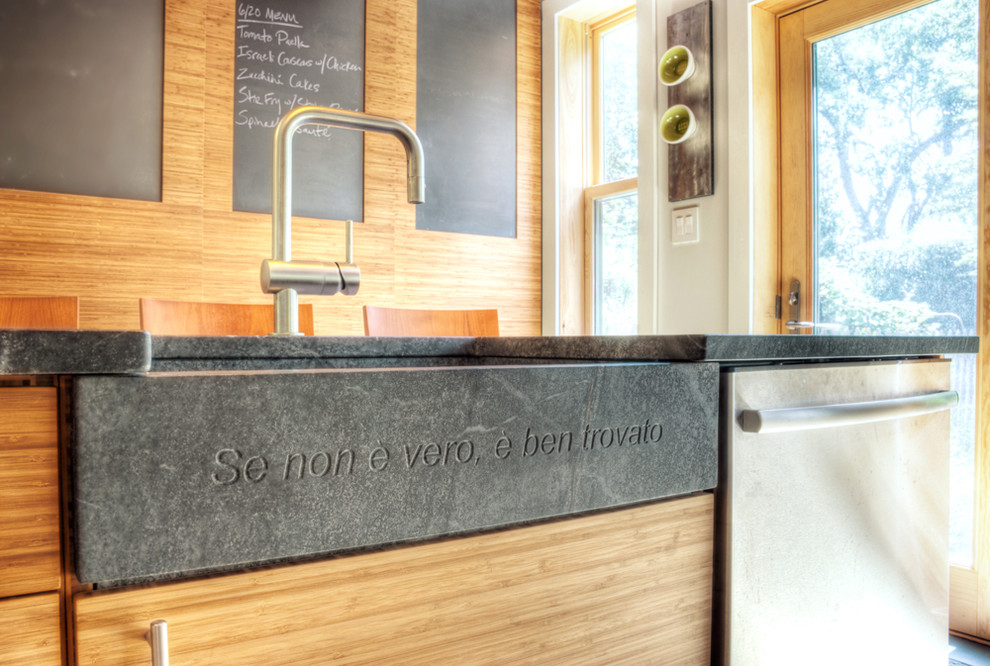 Soapstone Sink Kitchen Contemporary with Apron Sink Chalkboard Eat in Kitchen Farmhouse