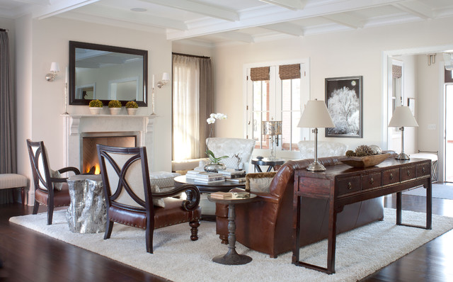 Sofa Mart Denver Living Room Traditional with Area Rug Arm Chairs Artwork Beige Wall Coffered Ceiling