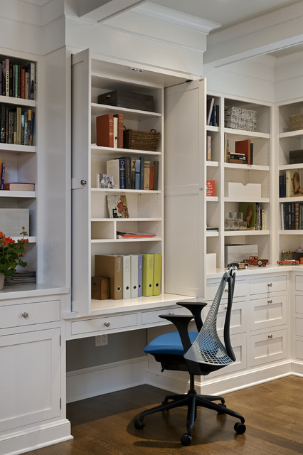 Soft Close Drawer Slides Home Office Traditional with Accessory Room Addition Book Shelves Built in Book Shelves