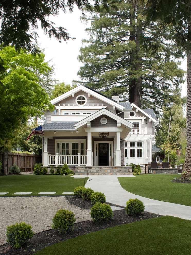 Solaria Lighting Exterior Traditional with American Flag Arbor Balcony Bungalow Columns Cottage