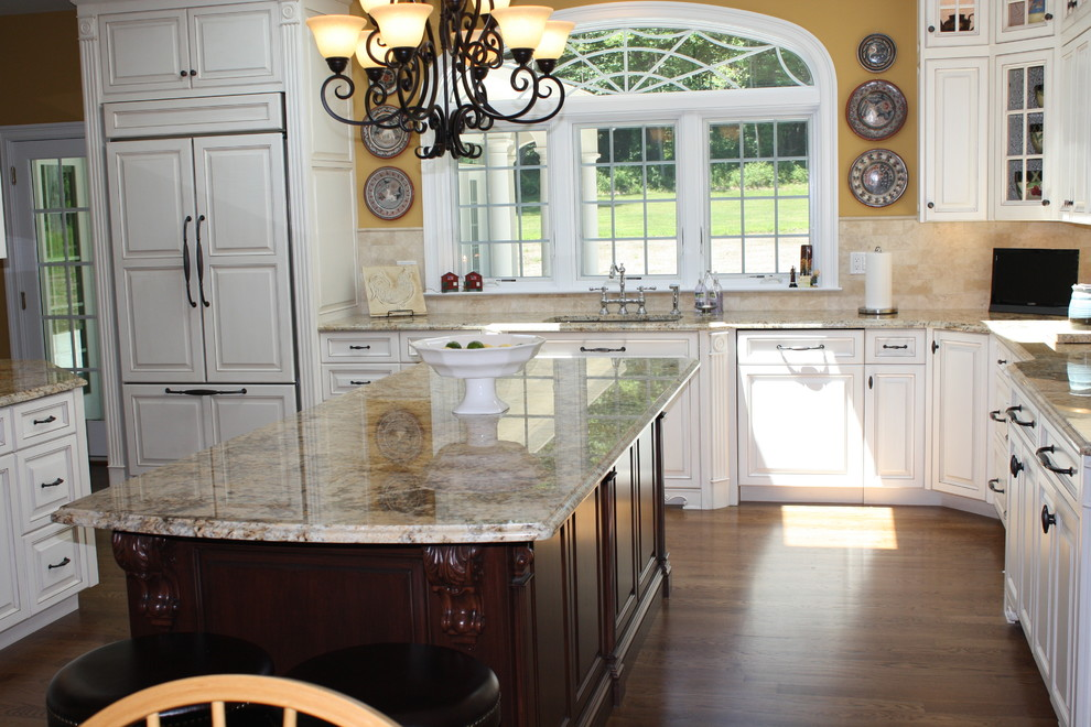 Solarius Granite Kitchen Traditional with Categorykitchenstyletraditionallocationnew York 2